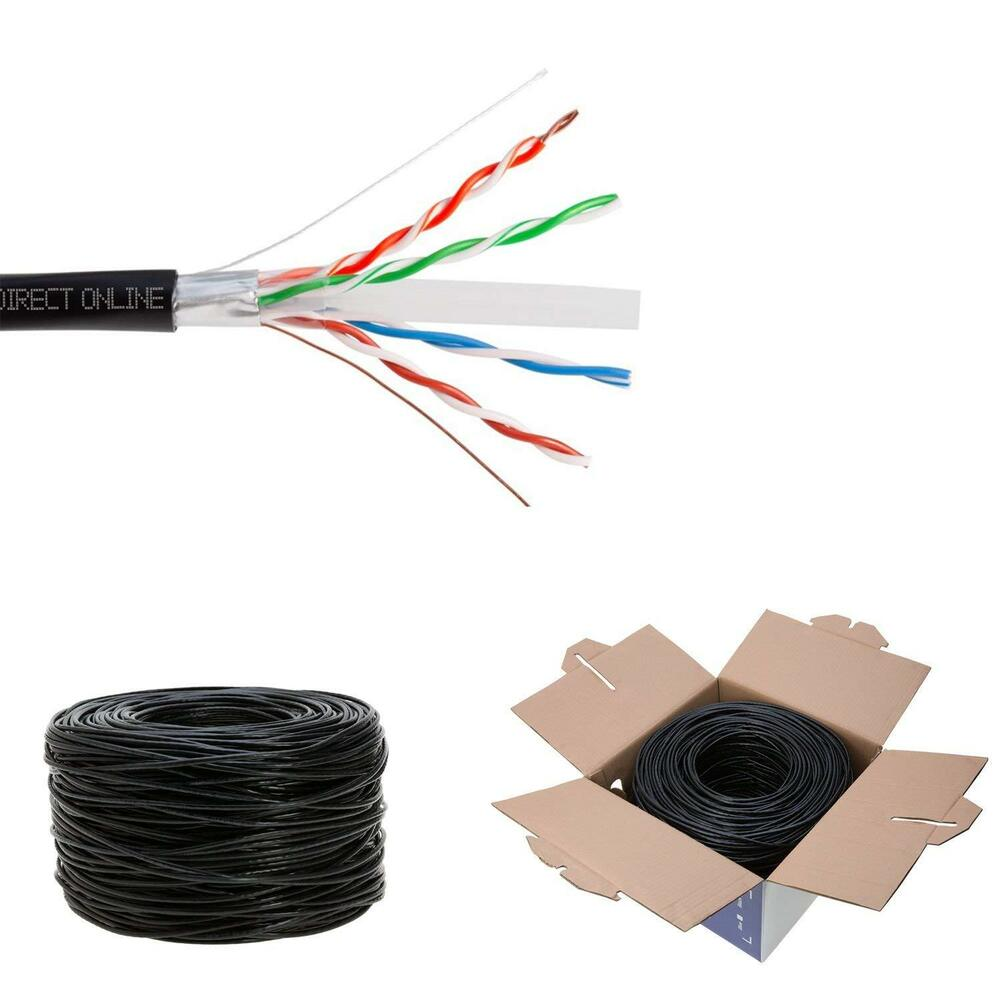outdoor wire for wiring outdoor lamp post wiring diagram cat6 1000ft shielded outdoor 23 awg 550 cable ftp wire ... #7