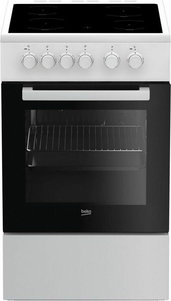 herd standherd beko freistehend mit ceran glaskeramik kochfeld 50cm grill ebay. Black Bedroom Furniture Sets. Home Design Ideas