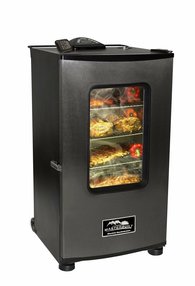 Built In Smoker Outdoor Kitchen: Masterbuilt Top Controller ELECTRIC SMOKER, Outdoor BBQ