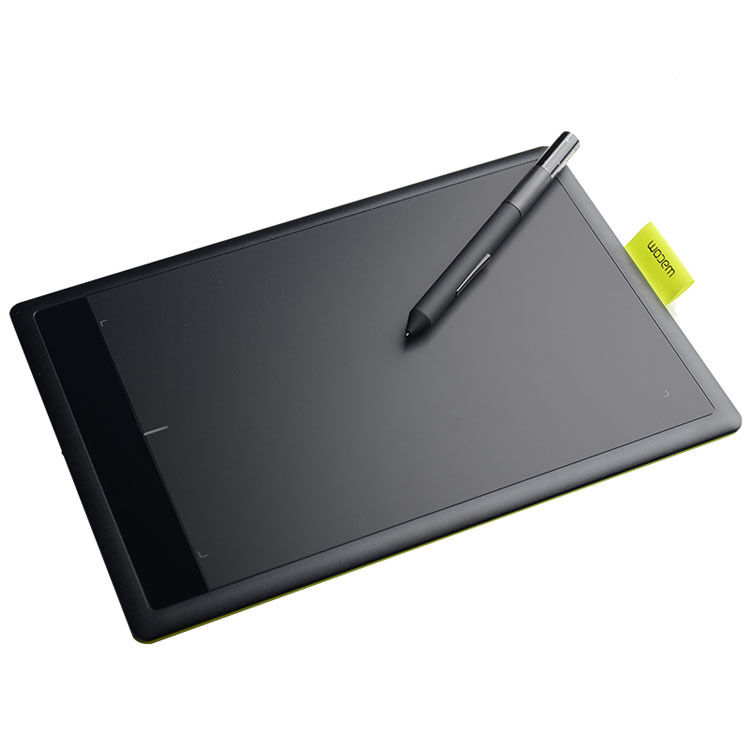 one by wacom bamboo splash pen small tablet ctl471 drawing. Black Bedroom Furniture Sets. Home Design Ideas