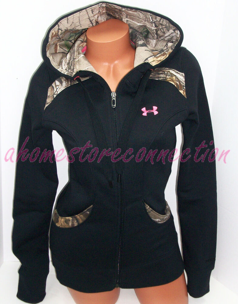 Womens pink camo hoodies
