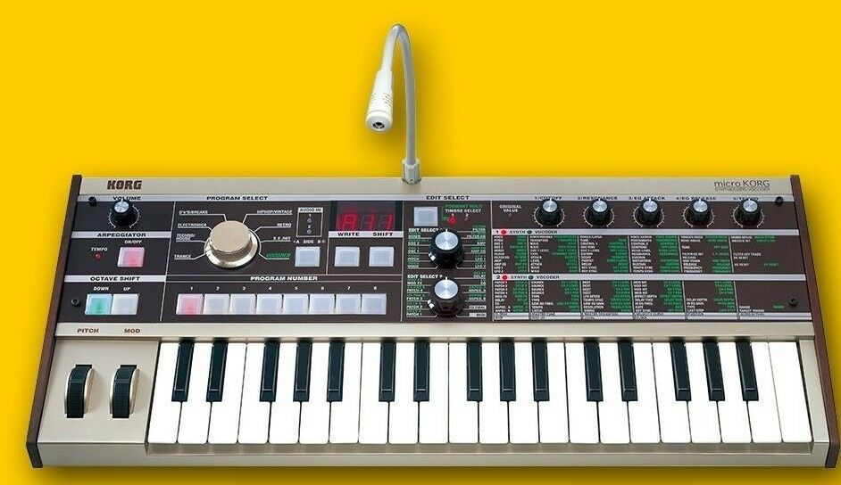 korg microkorg synth synthesizer vocoder micro 37 mini key keyboard armens ebay. Black Bedroom Furniture Sets. Home Design Ideas