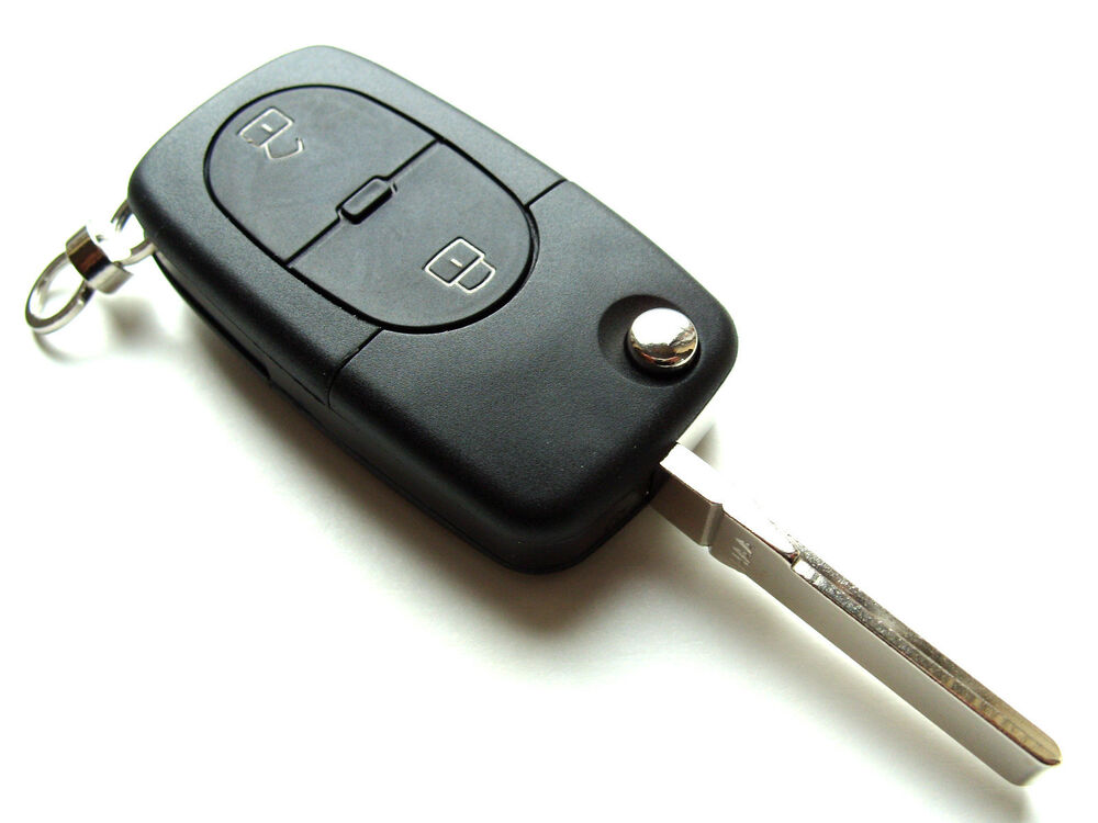 vw golf polo jetta passat 2 button flip remote key fob. Black Bedroom Furniture Sets. Home Design Ideas