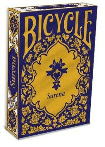 Bicycle Surena 1 Deck Gold Trim Back Playing Cards Persian