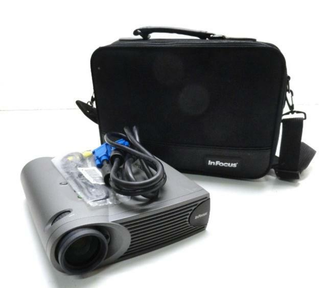 Infocus lp335 portable projector with case and executive for Pocket projector case