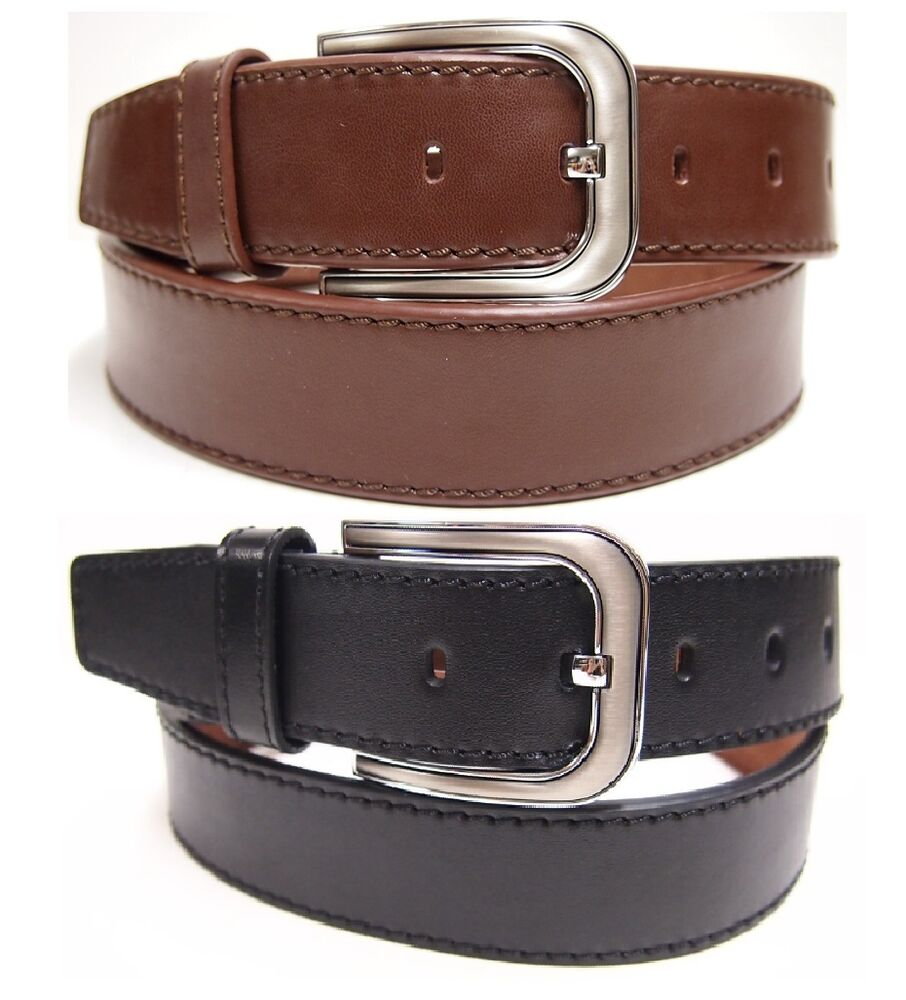 heavy duty solid leather belt genuine leather cowhide