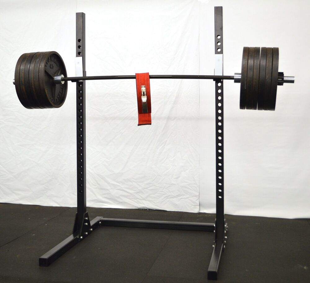 Squat Bench Press Rack Ebay