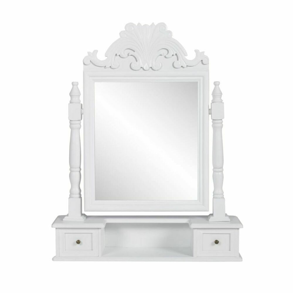 new vanity makeup table with mirror dressing table white free standing ebay. Black Bedroom Furniture Sets. Home Design Ideas