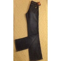 New, Apple Bottoms By Nelly Women's Jeans, Size 6, Inseam 33'', Made In USA