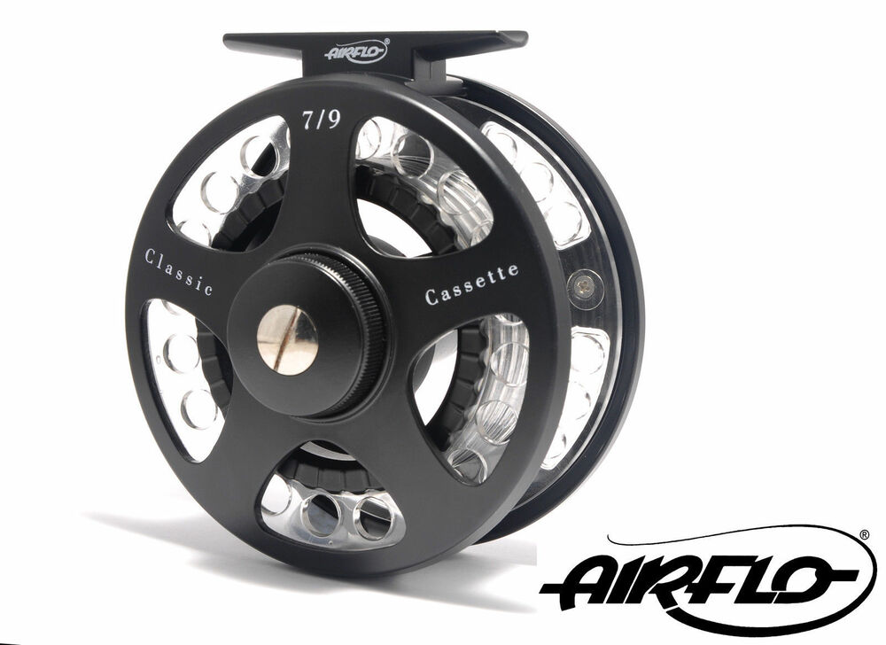 Airflo new classic cassette fly fishing reel 3 spare for Fly fishing reels ebay