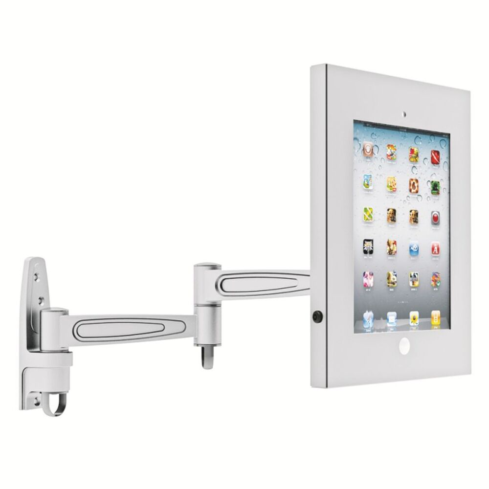 Ipad 4 3 2 Air Anti Theft Secure Wall Mount Lockable