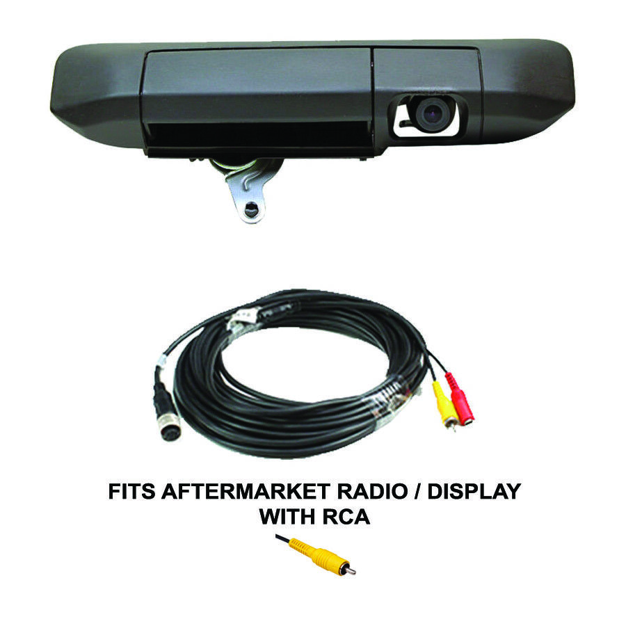 color tailgate handle latch rear view backup camera for. Black Bedroom Furniture Sets. Home Design Ideas