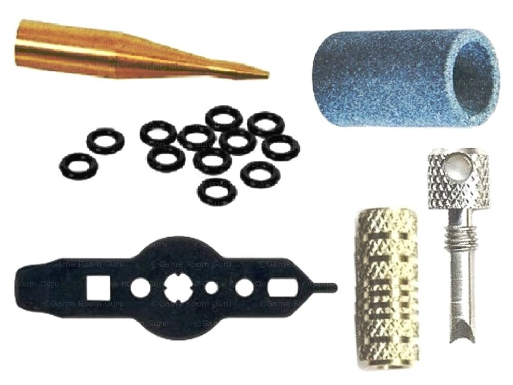 Extractor O Ring : Dart repair kit with sharpener wrench shaft extractor