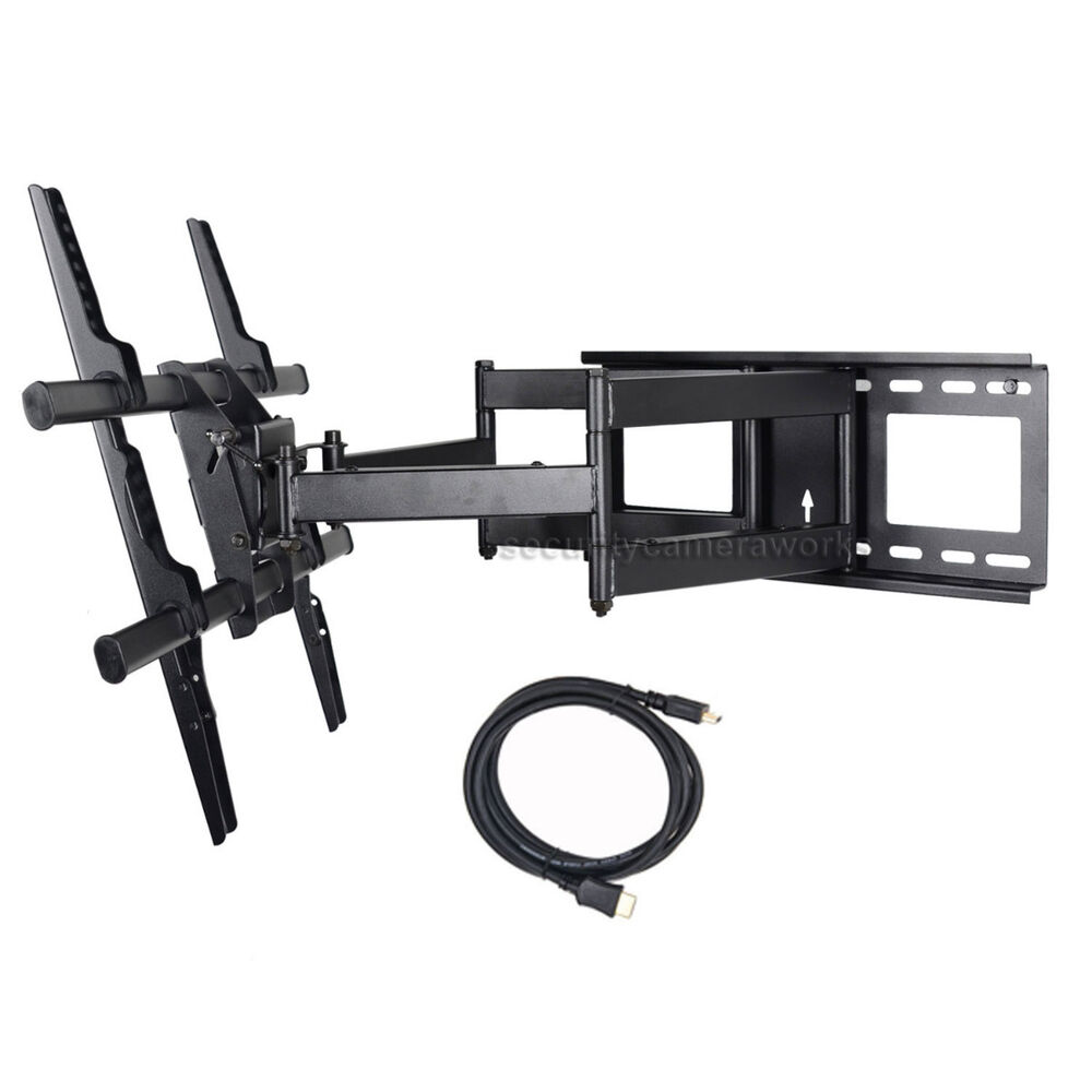 full motion tv wall mount led lcd plasma for samsung 40 65 75 un60h6350afxz br6 ebay. Black Bedroom Furniture Sets. Home Design Ideas