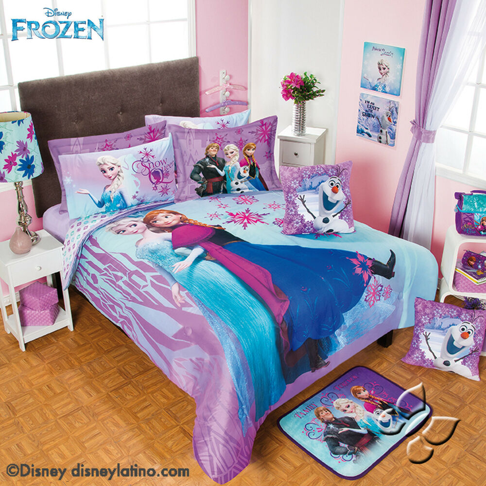 disney frozen bedroom new disney purple blue frozen olaf elsa 11442