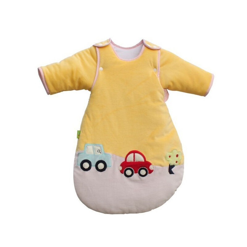 New Travel Baby Sleeping Bag 3 5tog Cars Sleeves Removable