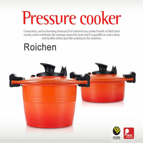 Roichen Pressure Cooker Nonstick Casserole Pot Smart