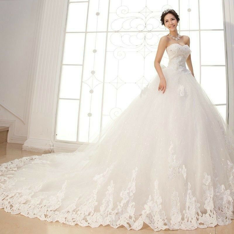 Wedding Gowns In South Africa: 2015 New White/Ivory Church Wedding Dress Bridal Gown Size