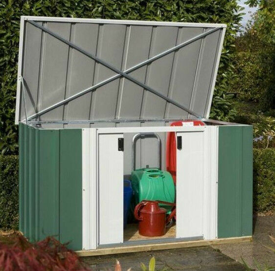 6 39 x 3 39 metal shed new 6x3 garden sheds caravan store for Garden shed 6x3