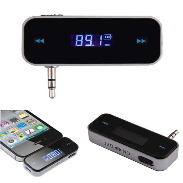 wireless car fm transmitter radio adapter for iphone. Black Bedroom Furniture Sets. Home Design Ideas