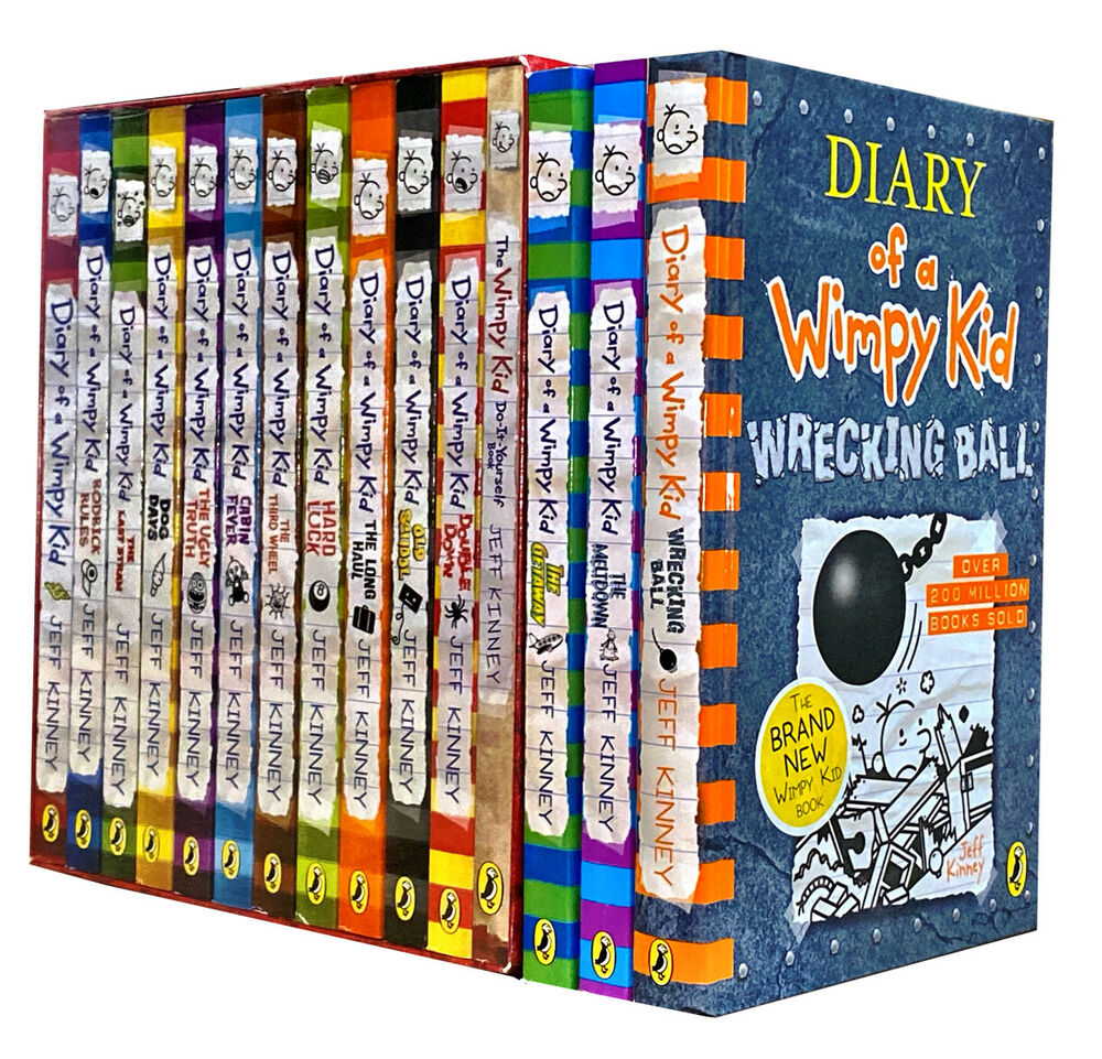 Diary of a wimpy kid collection 12 books box set jeff kinney double diary of a wimpy kid collection 12 books box set jeff kinney double down old sc ebay solutioingenieria Image collections