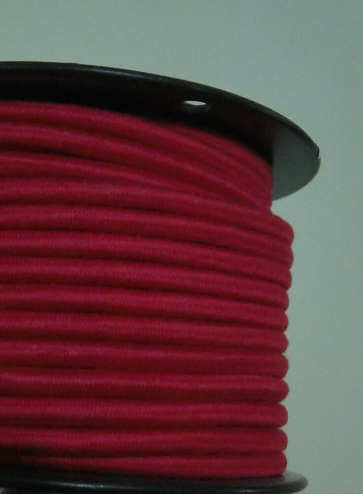 cotton pulley 3 wire antique vintage style cloth