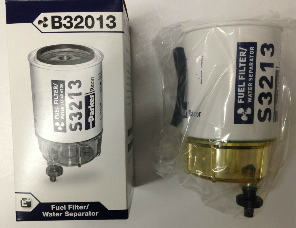 MERCURY YAMAHA SUZUKI Racor Fuel Filter Water Separator 10