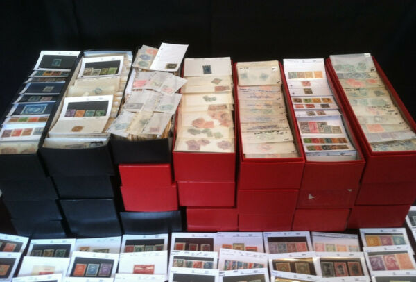 ✯✯ HUGE Dealer Stock of Worldwide Stamps 1800s/1900s Mint Rare ✯ 300+ Stamps! ✯✯