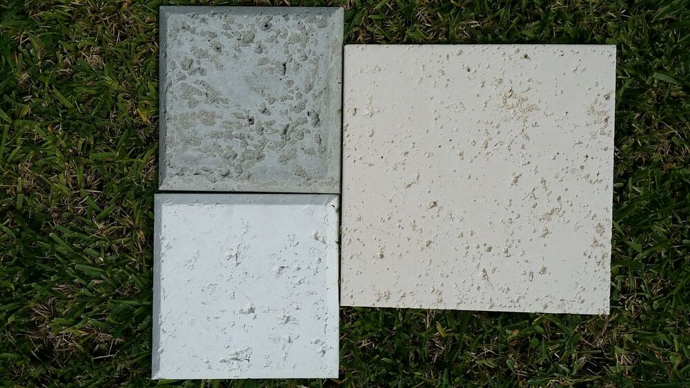 Concrete 12 X12 18 X18 12 X24 Cement Tiles White Off