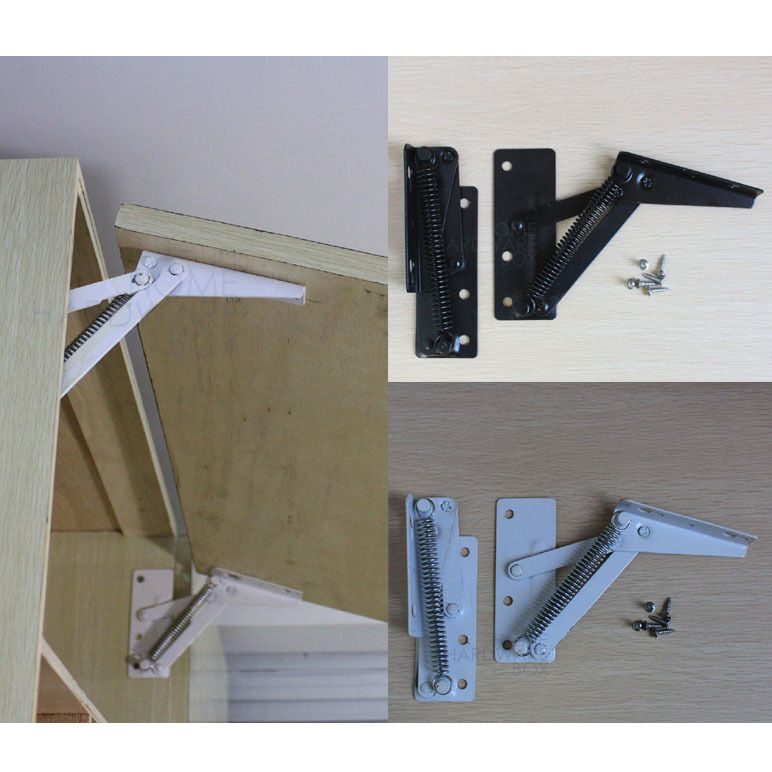 Lift Hinges For Kitchen Cabinets: Spring Stay Sprung Cabinet Door Stop Support Kitchen