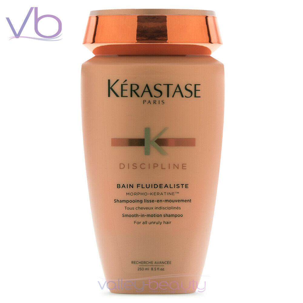 kerastase discipline bain fluidealiste 250ml smoothing shampoo anti frizz new ebay. Black Bedroom Furniture Sets. Home Design Ideas