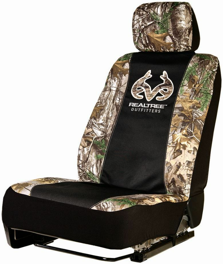 realtree xtra universal camo seat cover low back seat cover ebay. Black Bedroom Furniture Sets. Home Design Ideas