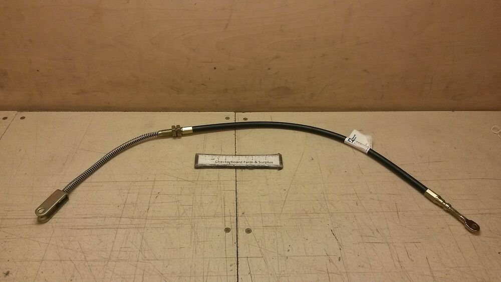 60 Push Pull Cable Assembly : Nos tuthill push pull control lb brake cable