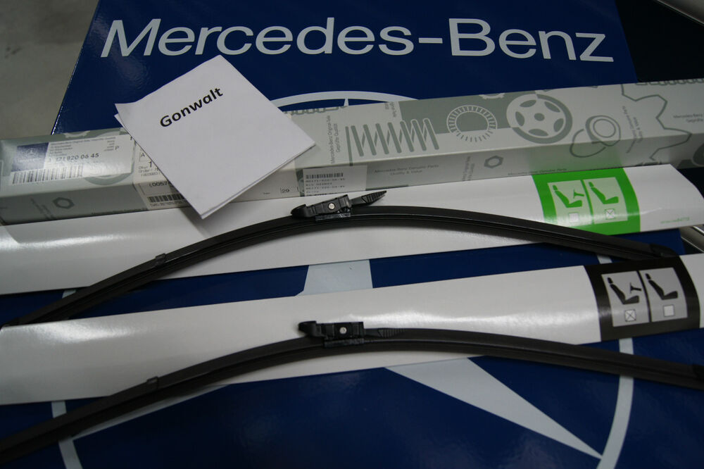 Mercedes benz slk280 slk300 slk350 slk55 wiper blades for Mercedes benz windshield wiper blades