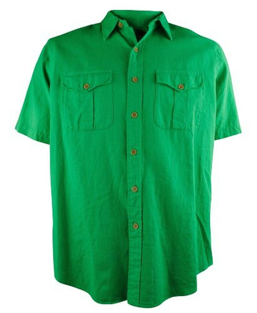 Polo Ralph Lauren Men 39 S Short Sleeve Linen Cotton Button