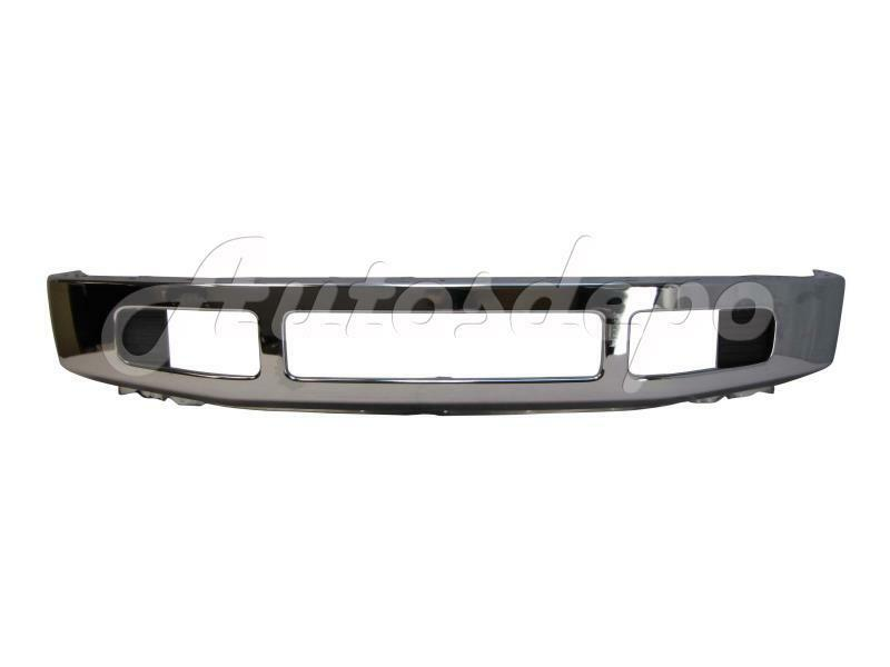 2008 2010 super duty f250 f350 front steel bumper chrome fog lamp cover w o mold ebay. Black Bedroom Furniture Sets. Home Design Ideas