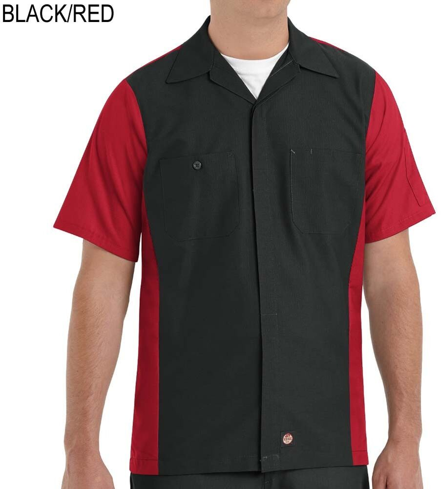 Red kap clothing on shoppinder for Red kap mechanic shirts