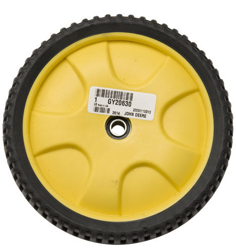 For John Deere Js61 Mower Replacement Parts : John deere js wheel and rim gy sub for