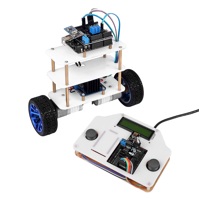 Instabots v intabots wheels self balancing robot car