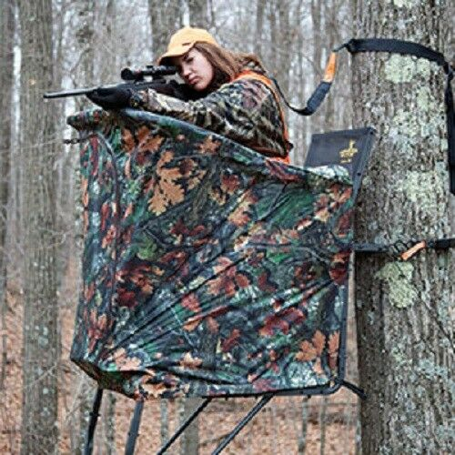New rivers edge curtain for uppercut oasis hunting ladder