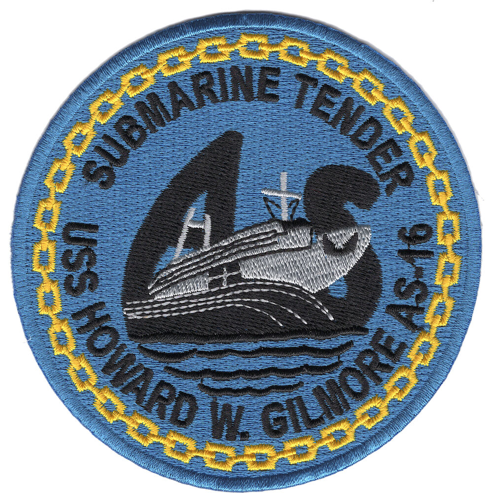 Details about  USS Howard W. Gilmore AS-16 Patch