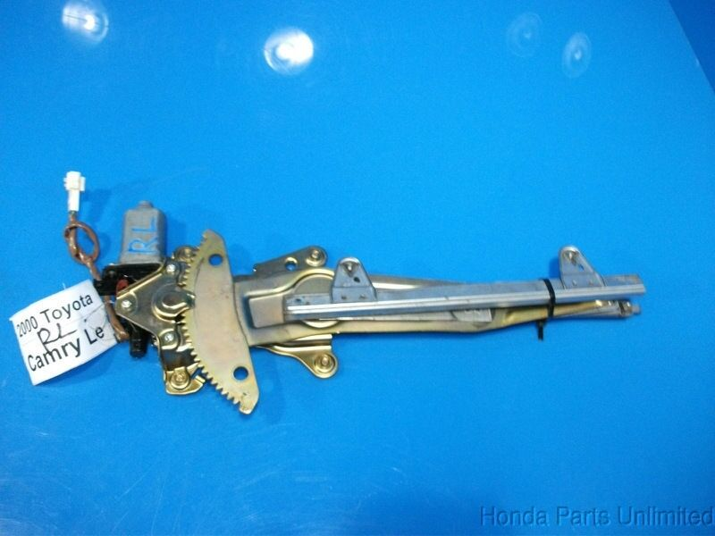 97 01 toyota camry oem rear left driver side power window for 2001 camry window motor