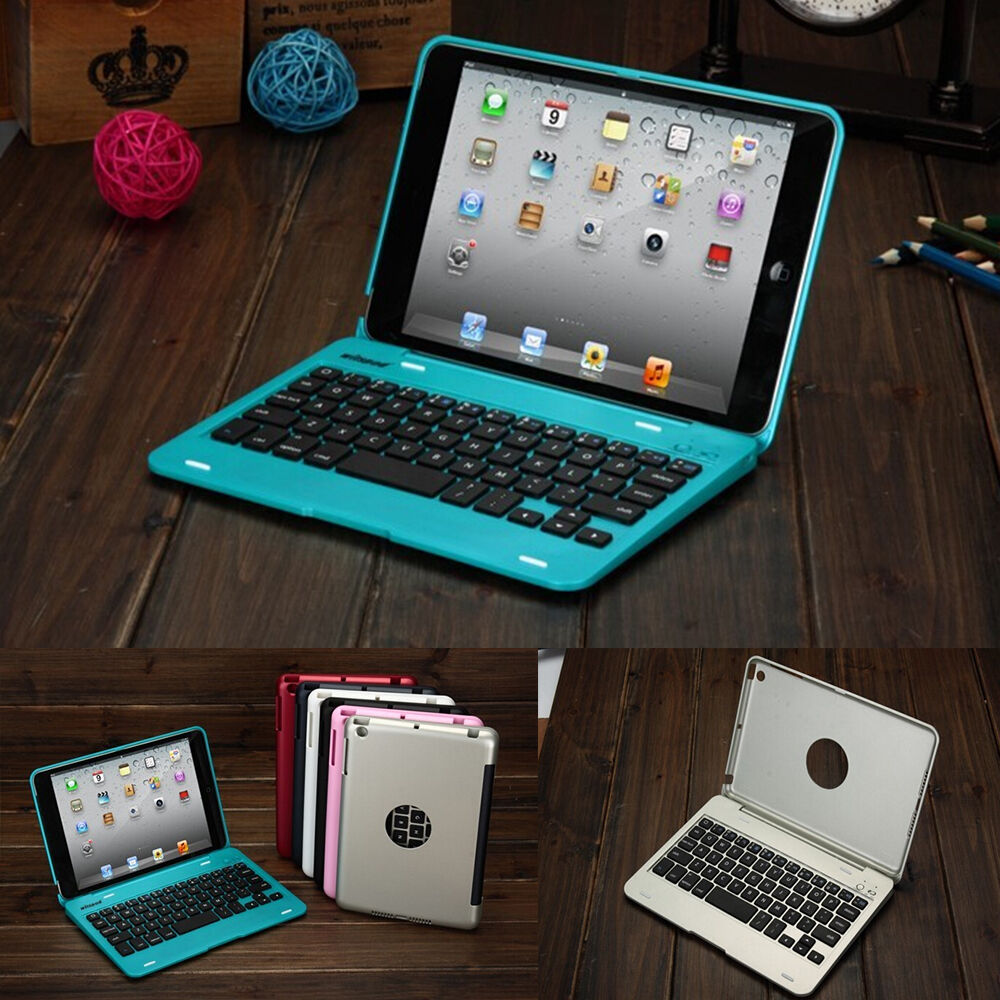 Foldable Wireless Bluetooth Keyboard Case Cover With Stand ...