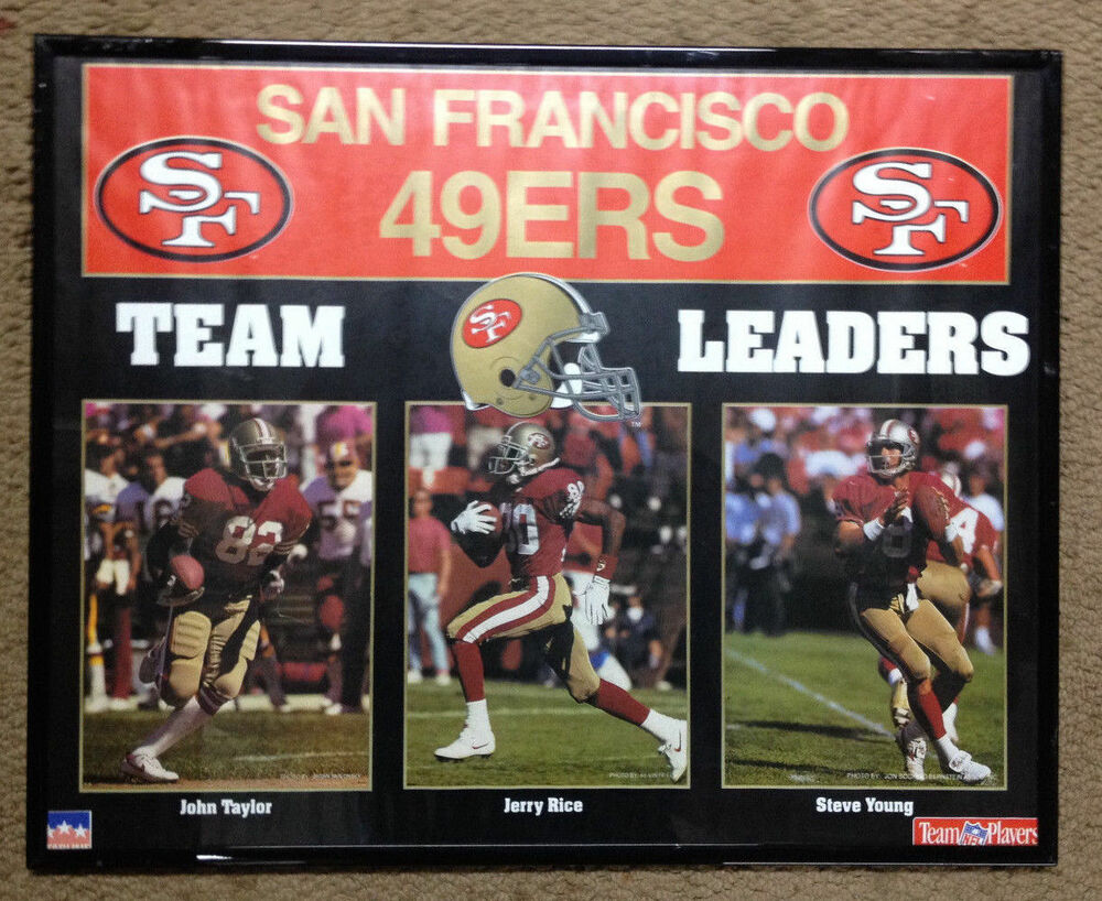 49ers Football Framed Poster Photo Team Legends Picture ...