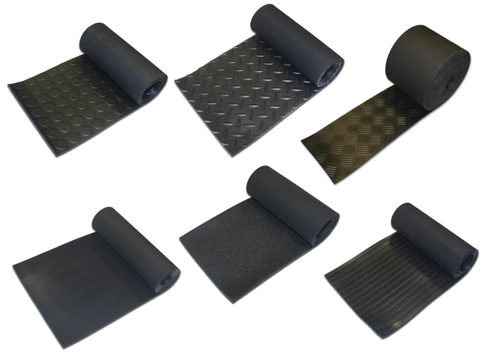 Rubber Matting Strips 3mm Thick Anti Slip Various Sizes