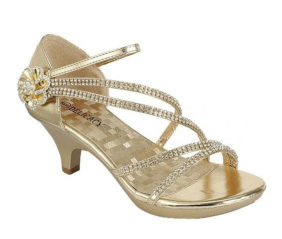 new s shoes evening rhinestones med heel wedding