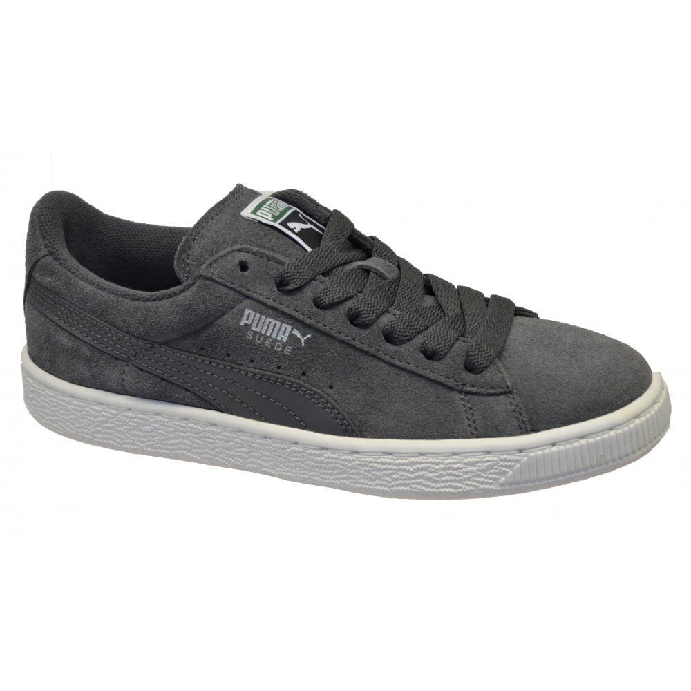 c9b565032ce Details about Puma Suede Classic Juniors Eco NM Shadow-Puma Silver (N1a)  355716-03 Trainers