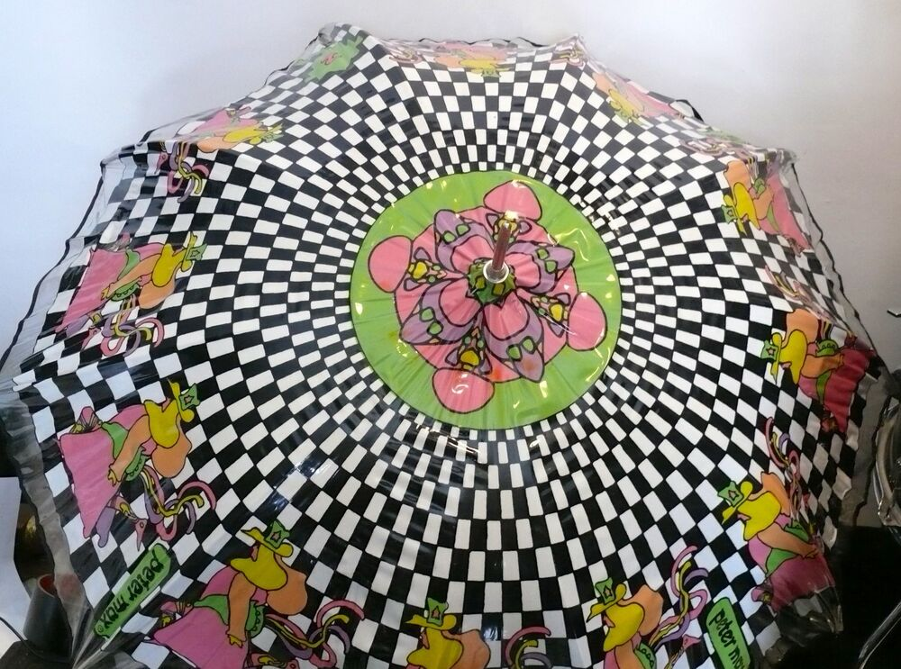 PETER MAX UMBRELLA 60'S PSYCHEDELIC ART MUSEUM QUALITY   eBay  Peter Max 60s