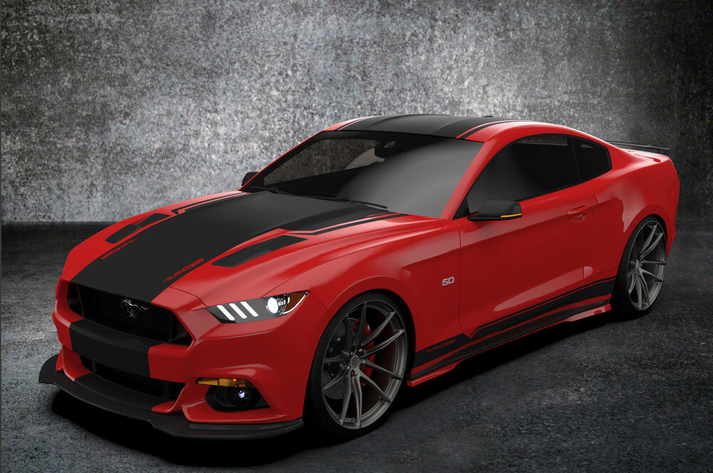 stripe kit mustang ford jargon gt edition ecoboost rs50 tm gt500 gt350 mustang6g advertisement
