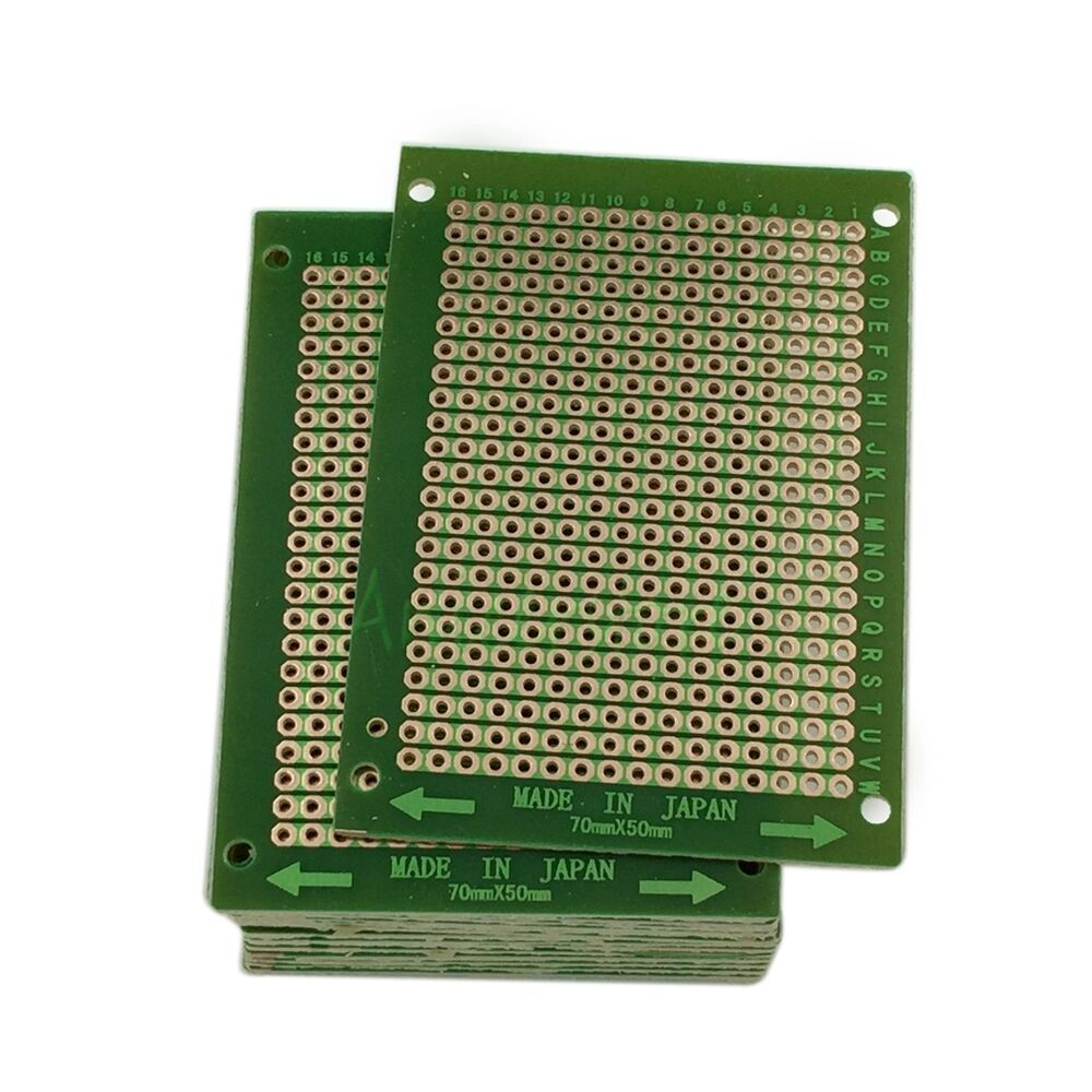 Soldering Printed Circuit Board Ask Answer Wiring Diagram Prototype Copper Pcb 70x90mm 2 Ebay 50pcs Diy Welding 50 X 70mm Solder For Boards